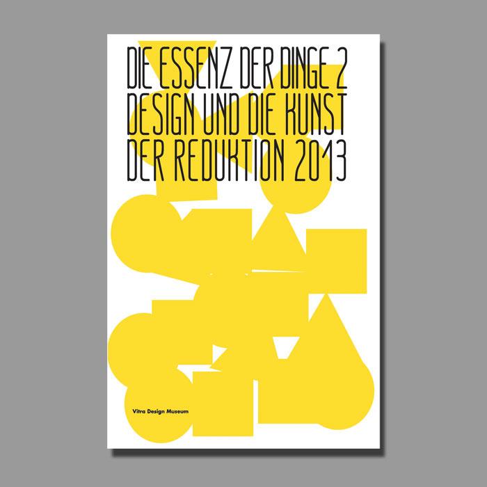 affiches formes géométriques jaunes sans coutours