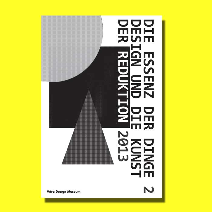 affiche noir et blanc-formes géométriques