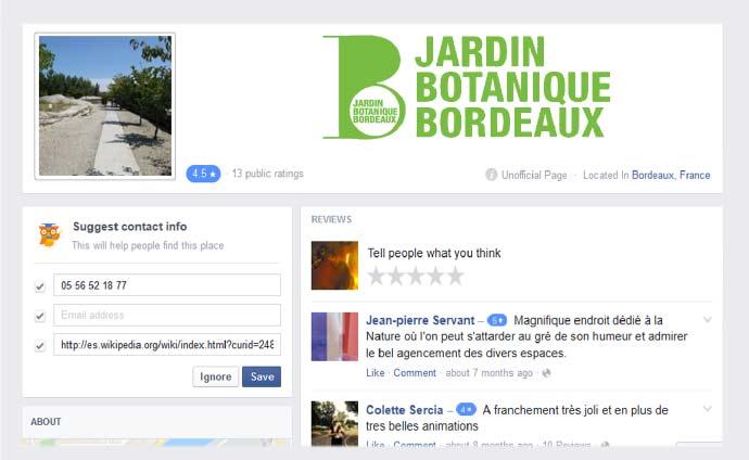 Web l 39 atelier chut libre for Jardin botanique decembre 2015