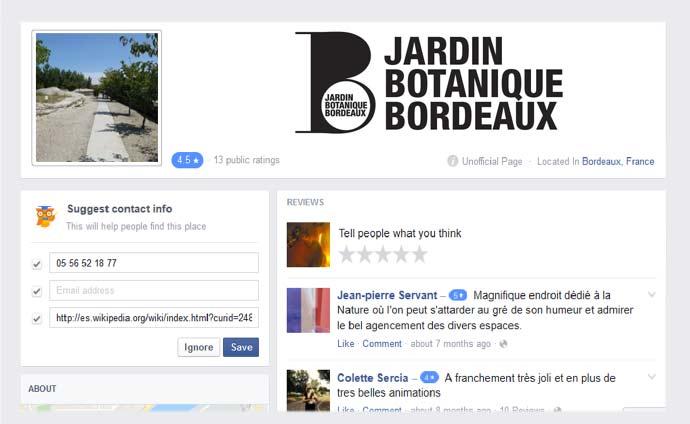 bannière réseaux sociaux jardin botanique de bordeaux
