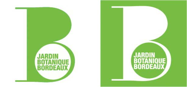 logo vert jardin botanique de bordeaux